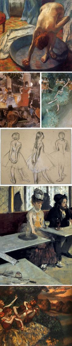 i like art, and will have it hanging all over my home. when i was little i tried recreating some of Degas' art work. obviously i failed epicly because no one could ever copy it. but i still love him :)
