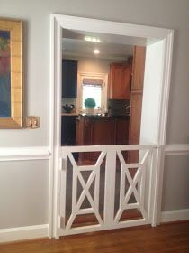 LUCY WILLIAMS INTERIOR DESIGN BLOG: DOGGIE DOOR TO DIE FOR!!