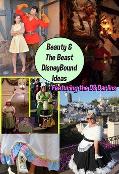 Beauty and the Beast Dapper Disneybound Inspiration, Disney Fashion, Belle Disneybound,