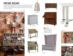 Trend: Vintage Bazaar #hpmkt featuring the John-Richard Cameron Table. Paw Feet Are Often A Symbol Of Great Strength..