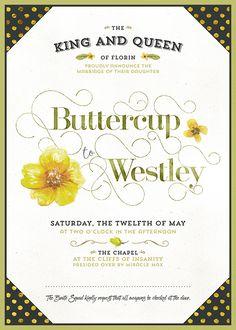 Wedding Invitation. just brilliant! {Design Cuts}