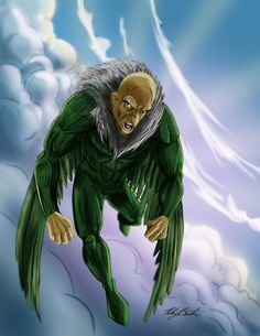 Spider-Man Rouges Gallery - Vulture by KileyBeecher on DeviantArt Sinister 6, Marvel Characters, Fictional Characters, Amazing Spider, Marvel Universe, Marvel Comics, Spiderman, Deviantart, Gallery