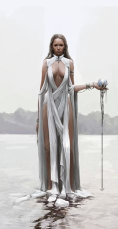 White Witch, Jiyeon Ryu on ArtStation at https://www.artstation.com/artwork/VBG6n