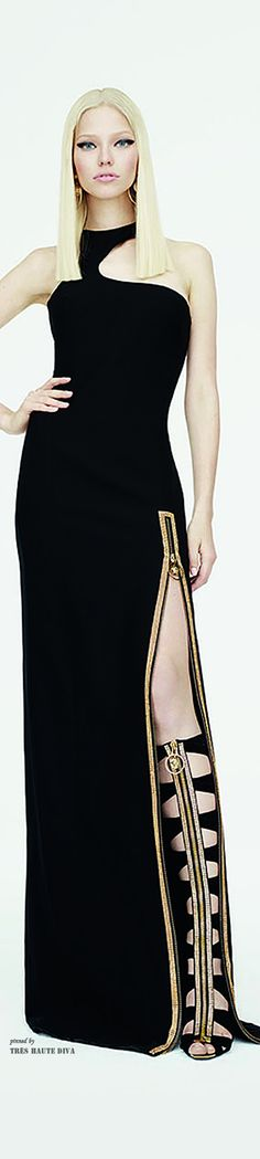 Versace Resort 2015 ~Latest Trendy Luxurious Women's Fashion - Haute Couture - dresses, jackets, bags, jewellery, shoes