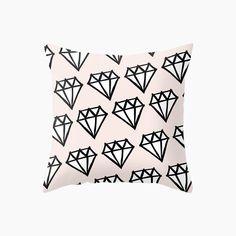 Diamonds Cushion - Peach