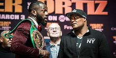 Wilder, Ortiz Face Off In New York Ahead Of Saturday Showdown -Unbeaten WBC Heavyweight Champion Deontay Wilder and unbeaten contender Luis Ortiz exchanged words and went face to face at the final press conference in Manhattan Thursday ahead of their main event showdown this Saturday, March 3 live on Showtime from Barclays Center, the home of Brooklyn...- http://www.saddoboxing.com/49197-wilder-ortiz-face-off.html
