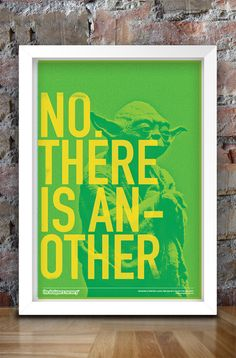 Star Wars Inspired Print (Heroes Series: YODA) A3--homage to star wars on one of his walls
