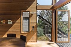 Port Townsend, Washington Home by Shipley Architects Dallas, Texas (The Boatmaker's Craft Home - Texas Architect)