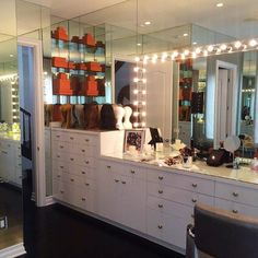 @kyliejenner's GLAM ROOM