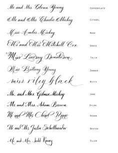 calligraphy-- something I MUST learn to do! I'm in love with the calligraphy that runs off the envelope. someone please buy me a calligraphy set for a holiday?