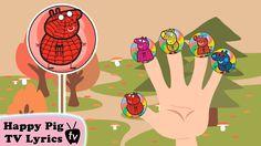 "Lollipop Peppa Pig SpiderMan Finger Family \ Nursery Rhymes Lyrics and More ""Pe."