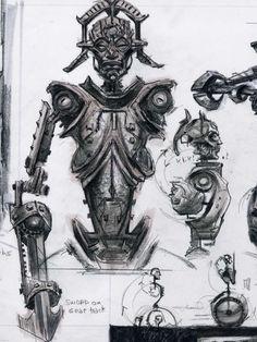 Random Sketches concept art from The Elder Scrolls V: Skyrim by Adam Adamowicz