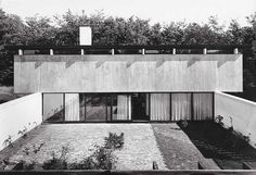 Knud Friis House | 1958 | Brabrand, Denmark | Friis & Moltke