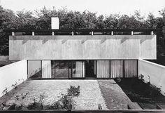 Friis & Moltke - Projects - Knud Friis' eget hus 1958 #Danmark