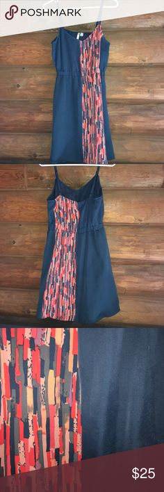 Colorblock Strapless Dress Woven dress Perfect for weddings or baby showers! Lauren Conrad Brand - size 8 LC Lauren Conrad Dresses