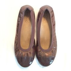 Apprehensive Dansko Sandra Wedge Shoe 37 Only Worn Once! Taupe Excellent Condition
