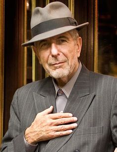Leonard Cohen wins the Ninth Glenn Gould Prize in 2011. One great Canadian artist wins a prize named in the memory of another great Canadian artist.