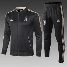 767f181739a Juventus 18 19 Black Men Jacket Tracksuit Slim Fit