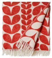 Wool blanket Karin Red