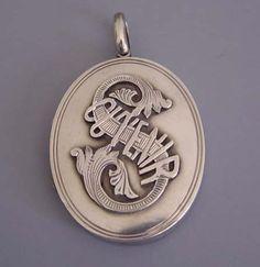 Souvenir Victorian locket