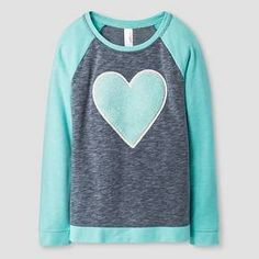 Girls' Sweatshirt Cat & Jack™ - Heart : Target