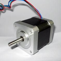 12-24V 1.8 Degree 42mm NEMA17 2 Phase 4-wire Stepper Motor For 3D Printer Or CNC Stage Lighting #Affiliate