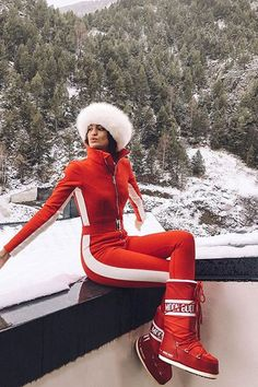Say Hello to the Fashionable Ski Pieces That'll Keep You Chic on the Slopes - Daily Fashion Ski Fashion, Daily Fashion, Winter Fashion, Gypsy Fashion, Mens Fashion, Winter Girl, Mens Winter, Winter Schnee, Ski Wear