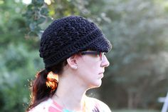 I just finished this fabulous newsboy cap! I bought the pattern on Ravelry, however it took me a while to get the gauge right. My first hat was a bit to small, and the second hat was a bit too big but this one came out JUST RIGHT. It seems to fit everyone I try it on, which relieves me because I was becoming concerned that I had an unusually large head! These take about a day to make and if you want one just shoot me an email with your favorite color! The cap is made with Lily's Sugar…