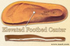Elevated Footbed Center - The elevated center of the insole releases pressure in the joint of the central part of the foot. | #Naot shoes are available at www.TheShoeMart.com #TheShoeMart.