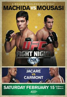 Lyoto Machida vs Gegard Mousasi Ao Vivo no UFC Fight Night | Tretando Videos