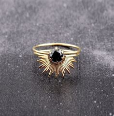 Beautiful ring by Sarah and Sebastian