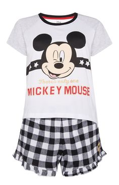 Mickey Mouse T-Shirt And Shorts Set f43615409