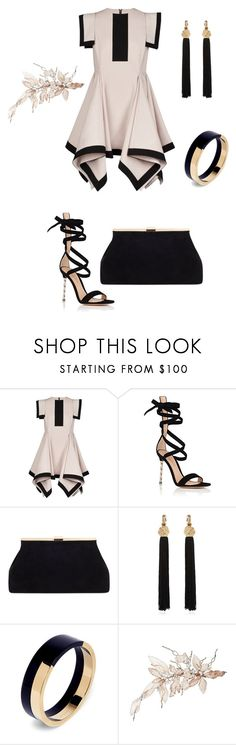"""Plus"" by anjieffat on Polyvore featuring Gianvito Rossi, Yves Saint Laurent and Marni"