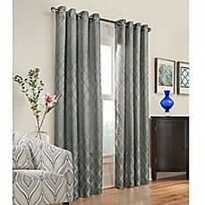 Image Of Commonwealth Home Fashions Triumph Grommet Top Window Curtain Panel
