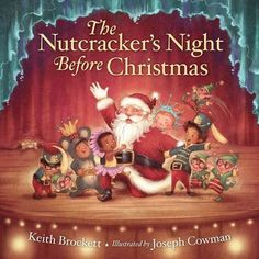 The Nutcracker's Night Before Christmas by Keith Brockett Hardcover Book (Englis #hardcover #book #englis #brockett #keith #night #before #christmas #nutcrackers