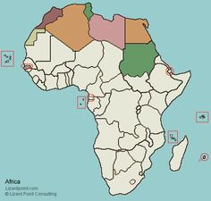 Eastern Africa Map Quiz - Design Templates