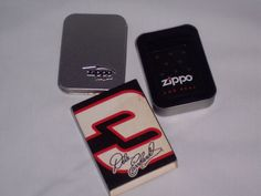 DALE EARNHARDT #3 MOTORSPORTS LEGACY ZIPPO LIGHTER'S SLEEVE & TIN, NO LIGHTER