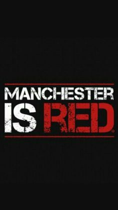 Manchester is RED
