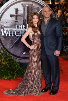Pin for Later: Vin Diesel and Rose Leslie Bring Lots of Chemistry to the Red Carpet