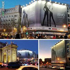 Brand: Liu Jo Madrid, Puerta de Alcalá  - EDIFICIO PLAZA INDEPENDENCIA #liujo #abbigliamento #donna #abbigliamentodonna #moda #spagna #madrid #fashion www.upgrademedia.it
