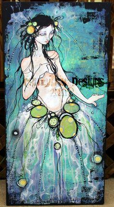 jellyfish queen by crazyfish_666, via Flickr  marla tomlinson marlasfaerytails.com