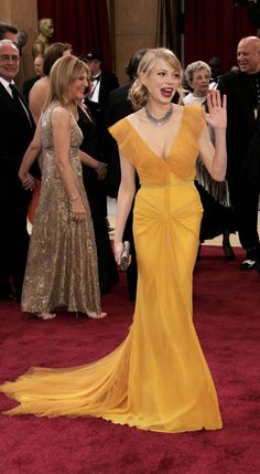 Oscars most iconic - 2006 - Michelle Williams - Vera Wang