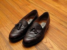 mens vintage Bally tassel loafers by countylinegeneral on Etsy, $70.00