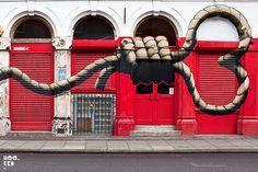 London street art tours - http://www.londongraffititours.com/