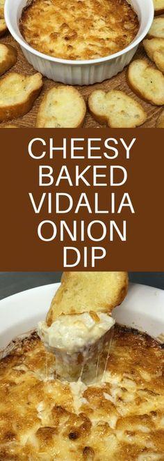 Cheesy Baked Vidalia Onion Dip! :-)