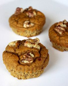 These light and fluffy pumpkin pie muffins can serve as a tasty breakfast to fuel your day, but they're sweet enough to feel like a treat. One of these muffins is under 140 calories, so grab two in the morning for a quick breakfast that will keep you satisfied throughout the morning.