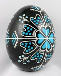 stained glass pysanky eggs | Found on pysanky.info