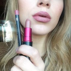 SOAR lip liner and Viva glam II by Mac ..