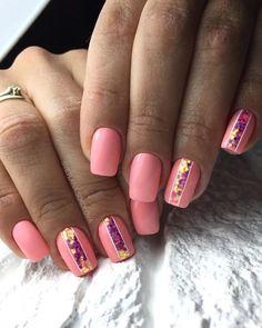 Nail Shapes - My Cool Nail Designs Types Of Nails Shapes, Different Nail Shapes, Acrylic Nail Shapes, Acrylic Nail Tips, Fake Nails Shape, Pink Nails, Gel Nails, Stiletto Nails, Cute Nails