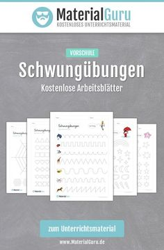 Free worksheets with swing exercises for preschool and elementary school for . - Vorschule - primary Free worksheets with swing exercises for preschool and elementary school for . Subtraction Worksheets, Alphabet Worksheets, Worksheets For Kids, Number Worksheets, Kindergarten Portfolio, Kindergarten Math, I School, Primary School, Learning Numbers